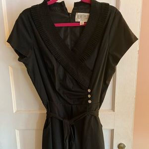 Black holiday dress. Size 12.  By